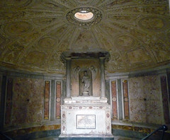 Bramante's Tempietto lower level dome