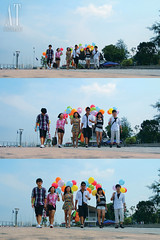 Ben, Ivy, Belle, Tan, Alicia & Derek (Alphone Tea) Tags: life pink blue girls light shadow red portrait sky favorite orange sun white motion black green art beautiful smile composition contrast speed pose walking print fun happy photography daylight photo amazing model colorful asia pretty floor bright wind bokeh modeling outdoor walk great balloon models chinese perspective young running peoples explore malaysia laugh lovely staring 2012 1755 belon dangabay 60d