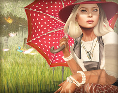 - rain - (FlowerDucatillon) Tags: flower fashion blog post secondlife pixel lamb erratic slupergirls flowerducatillon hairfair2012