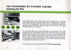 Kodak Retina IIC - Instructions For Use - Page 12 (TempusVolat) Tags: kodak retina 2c iic instruction guide instructions manual camera 1950s art design graphics scan film 35mm vintage photography instrument information info old scanned scans mrmorodo gareth retinaiic retina2c bigc viewfinder chromeage kodakag booklet howto book reading read pages steps printed material shared pamphlet leaflet tempusvolat tempus volat big c ii epsonscanner flickr getty interesting image picture gw scanner scanning epson perfection v200 photoscanner epsonperfection garethwonfor mr morodo