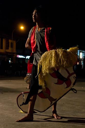 Participant in Kuda Kepang / Kuda Lumping dance