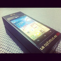 And just received new toy to play with LG Optimus 4X HD