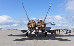 McDonnell Douglas F-18D Hornet (Boushh_TFA) Tags: show norway norge nikon force swiss air tiger 17 hornet enol nikkor f18 18 douglas vr ola nato 2012 mcdonnell 18200mm d90 f18d rland vrii hovedflystasjon j5232 fightersqn fulgplatzkommando