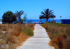Playa de Percheles (Mariano R. Guasch) Tags: summer beach playa verano percheles