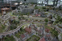 2012_nyarals_0423 (emzepe) Tags: park railroad museum table model centre budapest eisenbahn rr center science muse childrens interactive modell cultural 2012 nyr budai nyarals budapesti terepasztal jlius millenris csodk palotja kzpont kulturlis jtszhz modellvast interaktv termszettudomnyos kultrkzpont