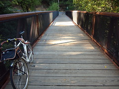 Bridge that starts the Cross Marin Trail on the east end (Franklyn W) Tags: sanfrancisco marincounty pointreyes bikeride touringbike randonneuse 650b specializedsequoia 650bconversion crossmarintrail