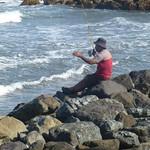 Fisherman on the rocks thumbnail