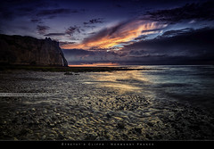 tretat's Cliffs (bgspix) Tags: sunset sun seascape france landscape interesting cliffs normandie normandy hdr tretat falaises canonef1740f4l nd8 ndgraduated canoneos5dmarkiii bgspix