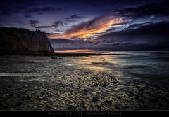 Étretat's Cliffs (bgspix) Tags: sunset sun seascape france landscape interesting cliffs normandie normandy hdr étretat falaises canonef1740f4l nd8 ndgraduated canoneos5dmarkiii bgspix