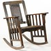 12. Mission Oak Rocking Chair