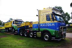 WH Malcolm Volvo FH16.600 at Truckfest Scotland 2012 (andyflyer) Tags: truck volvo trucking lorries haulage truckfest hgv lowloader fh16 malcolmgroup roadhaulage whmalcolm truckfestscotland r16whm truckfestscotland2012 truckfestedinburgh