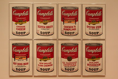 Condensed Art - Museum Of Art - Oklahoma City, OK (tossmeanote) Tags: new old city red england dog white hot art chicken oklahoma mushroom yellow museum cheese canon tomato geotagged eos soup stew golden vegetable clam bean moa scotch oyster okc artmuseum ok campbells dumplings broth chowder cheddar 2012 fashioned 60d tossmeanote