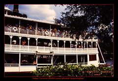 Richard F. Irvine (Supersyl08) Tags: slide parade kodachrome steamboat waltdisneyworld magickingdom slidescan buoyant wheelboat richardfirvine eu3cfilmscan35mm 103dvcam