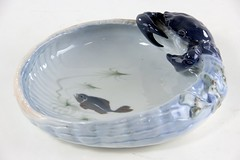 3034. Royal Copenhagen Crab and Basket Dish