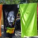 "Bob Marley Towel - ""Jamaica freedom"" and some multi-coloured ""Portugal"" towels"