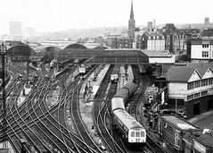 Newcastle Central Station c.1971 (colin9007) Tags: newcastle class 03 101 55 deltic dmu