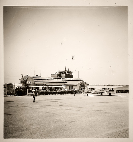South African photographs from 1954 - Lusaka Airport
