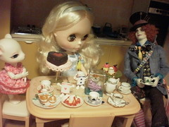 Mad Hatter's tea party...