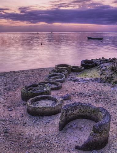 Sunset on Nusa Lembongan