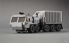 Bane's Truck _07 (_Tiler) Tags: car truck dc lego military mini batman vehicle dccomics bane militarytruck miniscale thedarkknightrises batmanthedarkknightrises