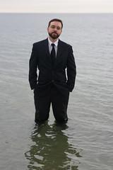 BlackTieBeach 142 (ittoku.lee) Tags: black castle beach water boston sand warmth tie suit tuxedo sos splash society tux revere spontaneity societies bostonsos