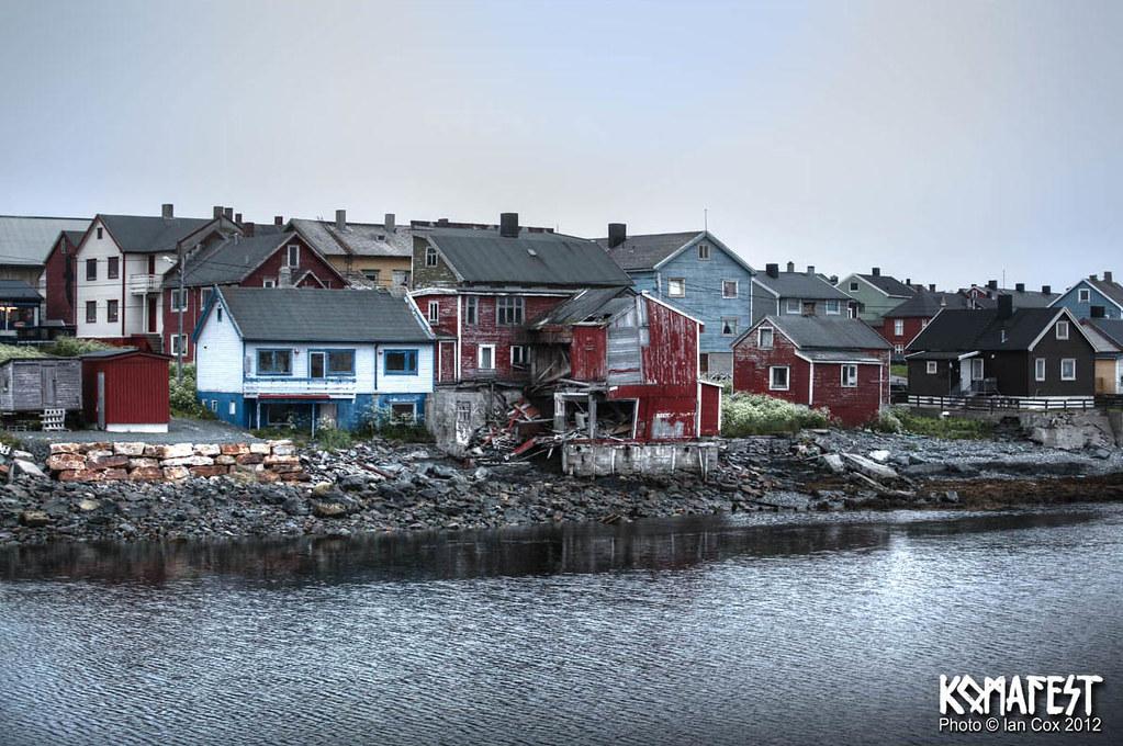 VARDO wooden houses. NORWAY