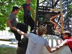 090716_hbuist_0530 (Hilbert 1958) Tags: parkourkingston kingstonsummerparkourworkshop july09 2016 kingston ontario freerunning training exercise sport fitness climbing jumping leaping