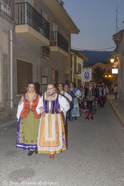 Encuentro de jotas en La Adrada