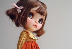 Cherre Babette (k07doll) Tags: cute bigeyes doll sweet blythe custom cubby blythedoll customblythe blythecustom k07 k07doll