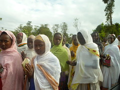 Konso funeral (davidevarenni) Tags: konso processione funeral etiopia ethiopia tribe trib copti