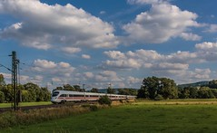 2019_2016_07_09_Haunetal_Unterhaun_DB_BB_411_510_Naumburg_(Saale)_&_DB_BB_411_013_Hansestadt_Stralsund (ruhrpott.sprinter) Tags: ruhrpott sprinter geutschland germany nrw ruhrgebiet gelsenkirchen lokomotive locomotives eisenbahn railroad zug train rail reisezug passenger gter cargo freight fret diesel ellok hessen haunetal unterhaun akiem db cancantus ctl dispo eloc meg mrcedispolok rurtalbahn vtlt ermewa uacns 151 155 186 189 193 1263 es64f4 ice cocoon alien outdoor logo natur graffiti