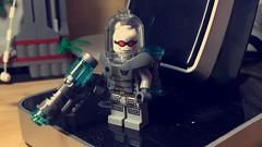 Mr. Freeze (LordAllo) Tags: lego dc batman mr freeze heart ice nora