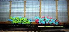 tars AA EDK (timetomakethepasta) Tags: tars aa edk freight train graffiti autorack art