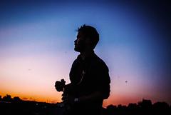 360/365 Adam (ewitsoe) Tags: adam 365 days night summer warta ewitsoe nikond80 35mm celebrate enjoy journey sunset silhouette sky evening summery warm drinking drinks champagne man youngman polska poznan poland