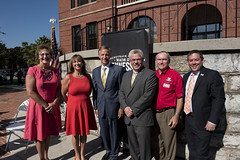 08.30.16 Governor Bill Haslam joins Commissioner Kevin Triplett of the Department of Tourist Development in a tourism economic impact press conference (Governor Bill Haslam) Tags: governorbillhaslam tourism kevintriplett august 2016 sevierville tennessee usa