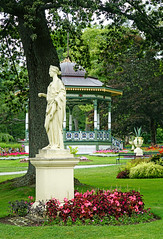 NS-02390 - Statues and Urns (archer10 (Dennis) 196M Views) Tags: halifax sony a6300 ilce6300 18200mm 1650mm mirrorless free freepicture archer10 dennis jarvis dennisgjarvis dennisjarvis iamcanadian novascotia canada publicgardens victorian best statues fountain duck flowers statue bandstand flower garden public urns