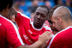 Homeless World Cup 2016, George Square, Glasgow, Scotland - 12 July 2016 (Homeless World Cup Official) Tags: hwc2016 homelessworldcup aballcanchangetheworld thisgameisreal streetsoccer glasgow soccer switzerland scotland