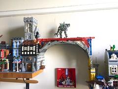 Bridge Frame (mcmorran) Tags: lego bridge constantinebridge modularbuildings technic exoskeleton