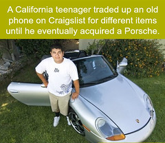 Young businessman (PuzzleCubes) Tags: funfact interesting facts puzzlecubesworld teenager tradeup phone craigslist porsche businessman skills