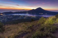 Sunrise from Mt Batur's Peak (Pandu Adnyana Photography Tour) Tags: baliphotographytour baliphotographyguide balitravelphotography balilandscapephotography balilandscapetour balilandscape bali indonesia batur mount lake sunrise dawn valley