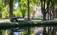 Reflections. (misterokz) Tags: bugatti veyron 164 coupé water eau reflection car voiture supercar exotic hypercar photography misterokz automobile explore