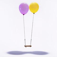 E' possibile... (Antonio Iacobelli (Jacobson-2012)) Tags: swing altalena ballon palloncini fantasia bari nikon d800 nikkor 50mm sb910 cactus rf60 quadralite