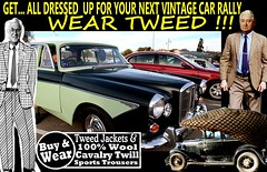 Car Rally  Vintage Tweed  4 (80s Muslc Rocks) Tags: vintage vintagemetal vehicle vehicles vintagecar veterans veteran classic canon clothing christchurch car clothes coat cars cavalrytwill cavalrytwilltrousers carshow nz newzealand nelson napier northisland newzealandvintagecar auckland ashburton australia auto tie tweed tweedjacket tweedjacketphotos tweeds dunedin invercargill hastings houndstooth houndstoothjacket harris headlights 2016 retro rotorua race rally oldschool old oldcars older 1980s 1970s 1960s 1950s plaid blazer blokes guys racing outdoor twill text scottishtweed scottish scotland uk british brisbane britsh sydney