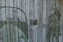 centerville, tn fence art (Nashville Street Photography) Tags: color ricohgrd ricohgrdcolor colorphotographer photogallery fenceart handpainted