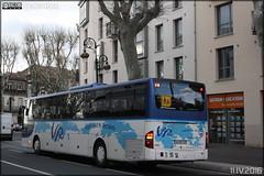 Mercedes-Benz Intouro - Voyages Rubio / AudeLignes (Semvatac) Tags: semvatac photo bus tramway mtro transportencommun mercedesbenz intouro aa020as voyagesrubio audelignes boulevardgnraldegaulle narbonne aude