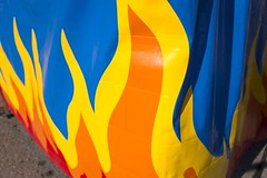 Fireball Flames (josullivan.59) Tags: wallpaper 3exp evening red texture yellow orange ontario outside artisitic day detail downtown fall london londonont canon6d canada clear canonef24105mmf4lisusm blue minimalism ride midway fair 2016 september