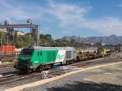 bb75065-1 (tgveurofrance) Tags: locomotive diesel bb75000 prima alstomsiemens sncf rseau gare aubagne train maintenance infrastructure ferroviaire locotracteur infrasncf