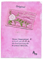 From Angela Behrendt (tofuart) Tags: mailart art mixedmedia pink postal postcard germany