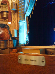 Anonymous Donor? (gamelaner) Tags: wisconsin theater victorian moorish restored alfredenewman madmagazine alfredeneuman menomonie mabeltaintermemorialtheater