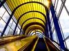 mandela escalator (zoetnet) Tags: architecture escalator thenetherlands zoetermeer brug mandela mandelabrug driemanspolder